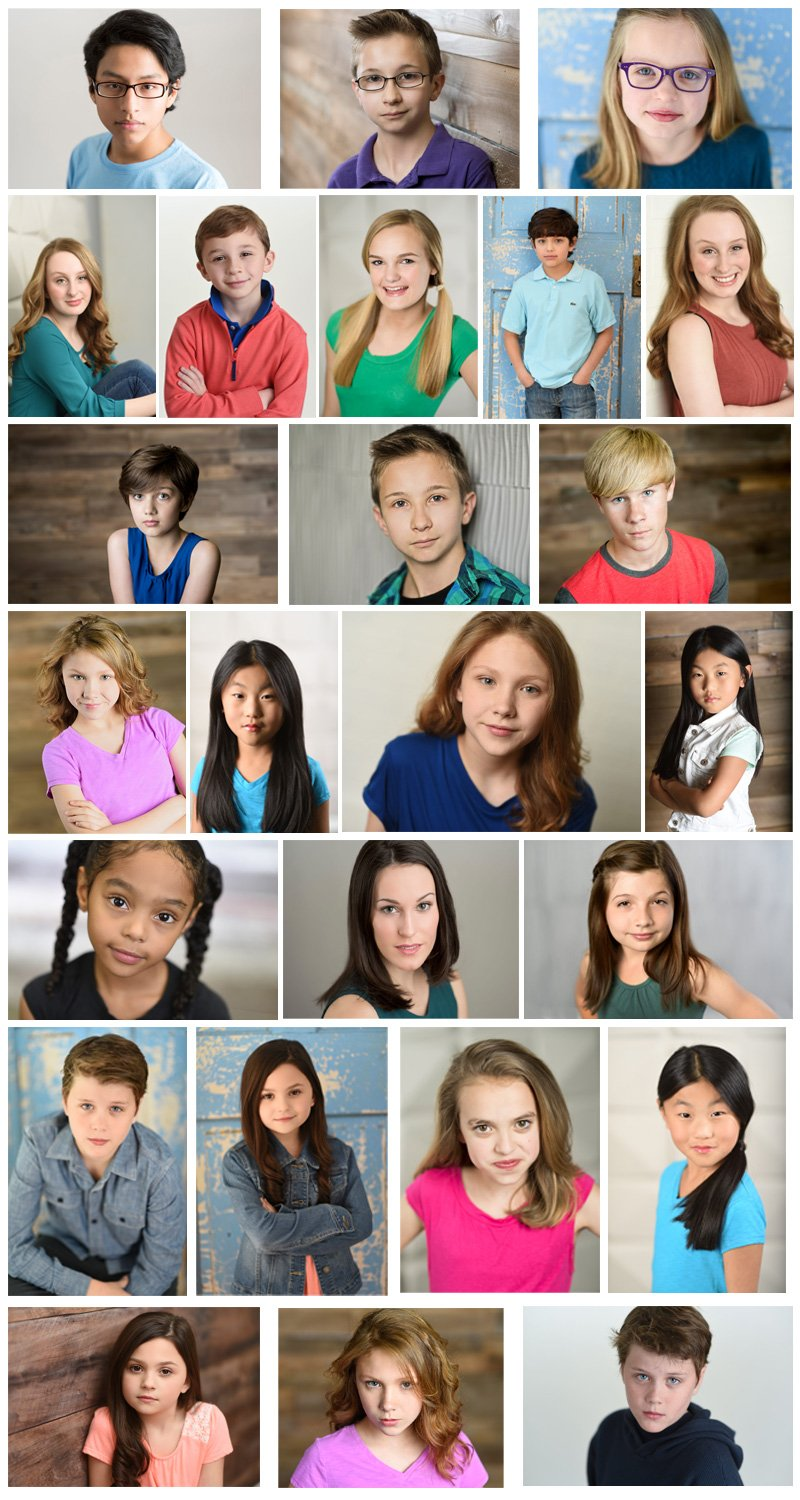 Child Acting Headshots